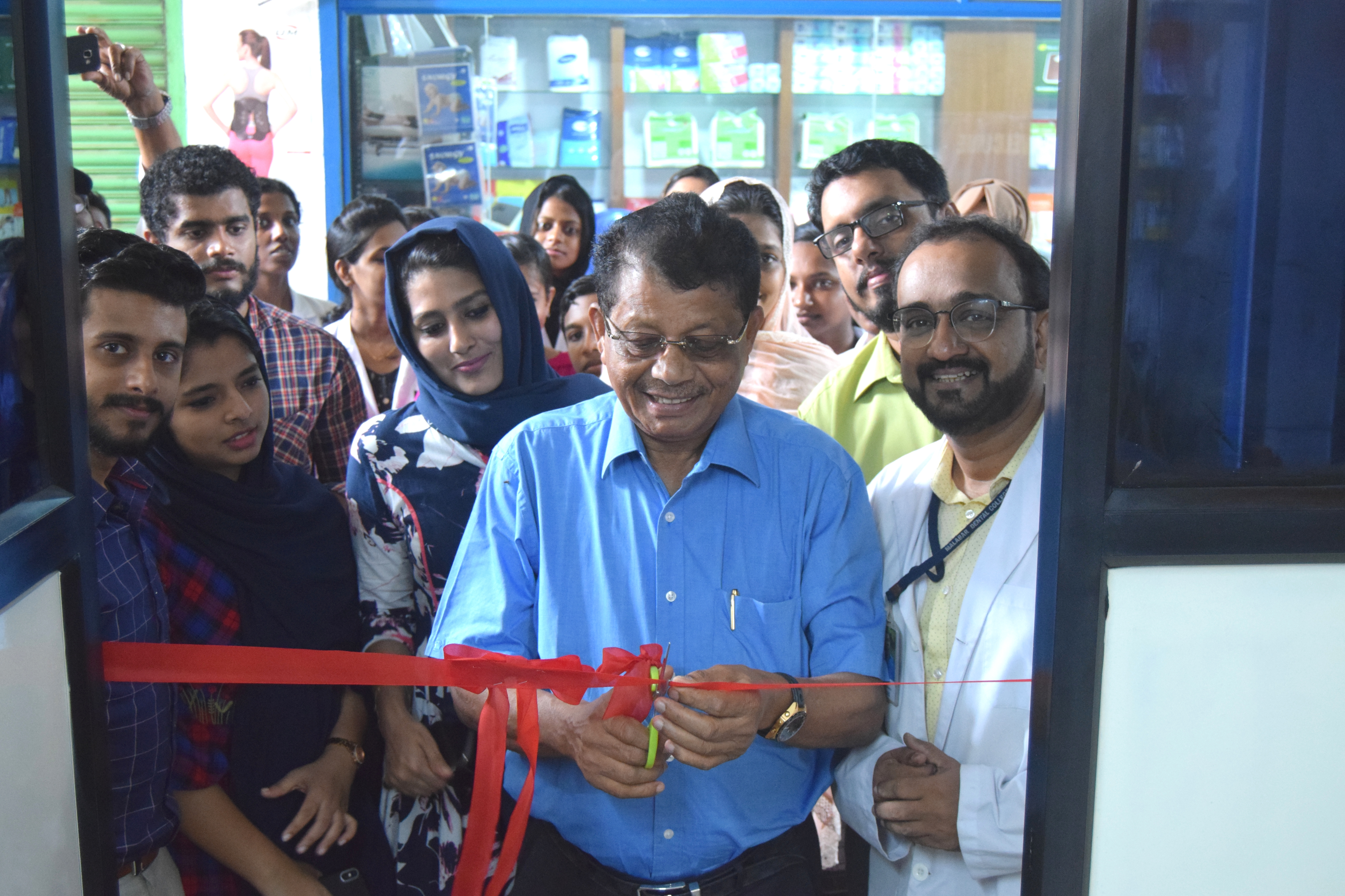 Satellite clinic (PRIDENT) inaugurated on 08-11-2019