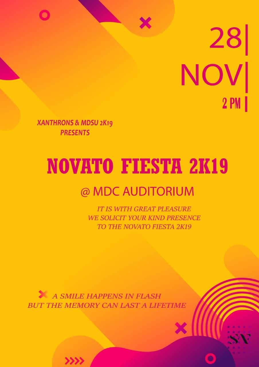 NOVATO FIESTA 2K19